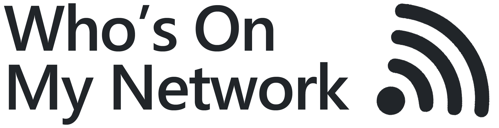 Who's On My Network Logo